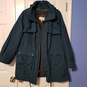 All weather coat with liner